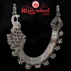 Antique Silver Juda (Jaipuri Juda)