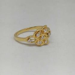 REAL DIAMOND BRANDED FANCY LADIES RING