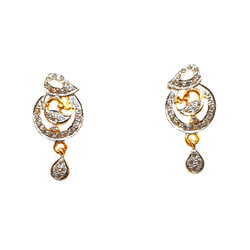 22K Gold Modern Style Earrings MGA - BTG0179