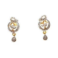 22K Gold Modern Style Earrings MGA - BTG0179
