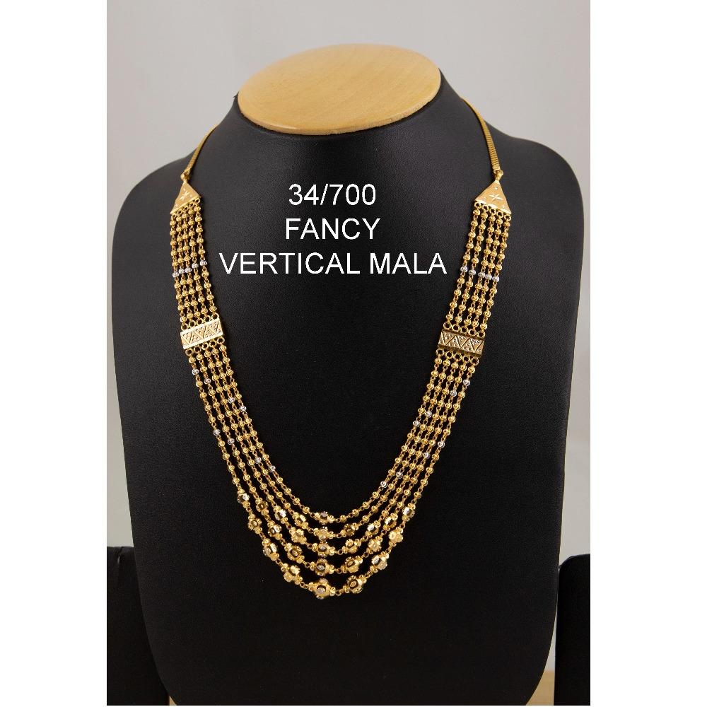 916 Gold Fancy Vertical Mala ML-C05