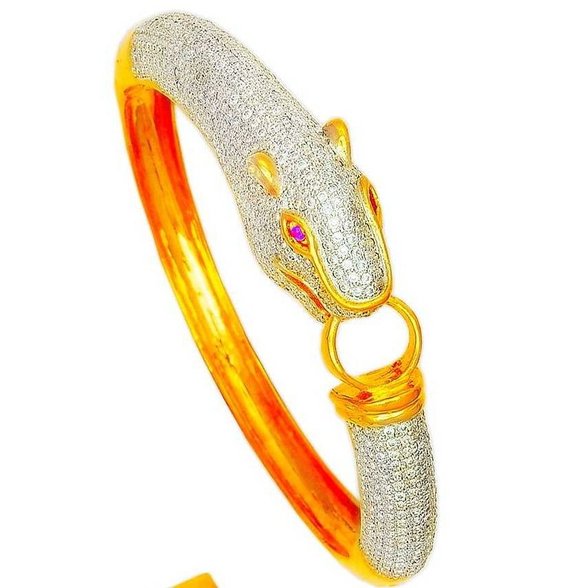 22K/916 Indian Gold Designer Kada