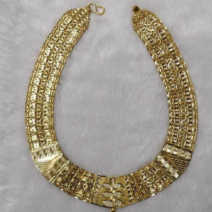 916 Handmade Gold Indian Thick Gents Chain