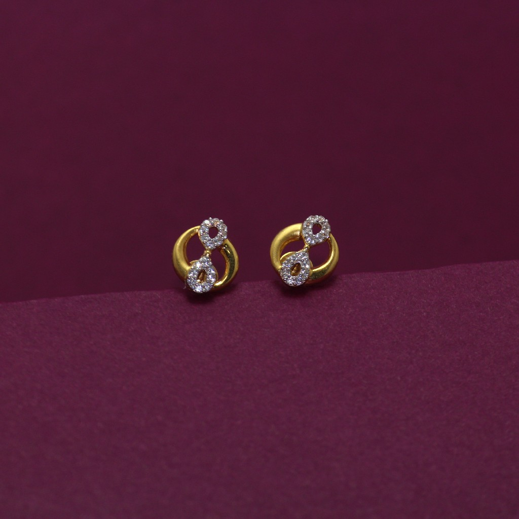 22KT Hallmarked Stunning Earring