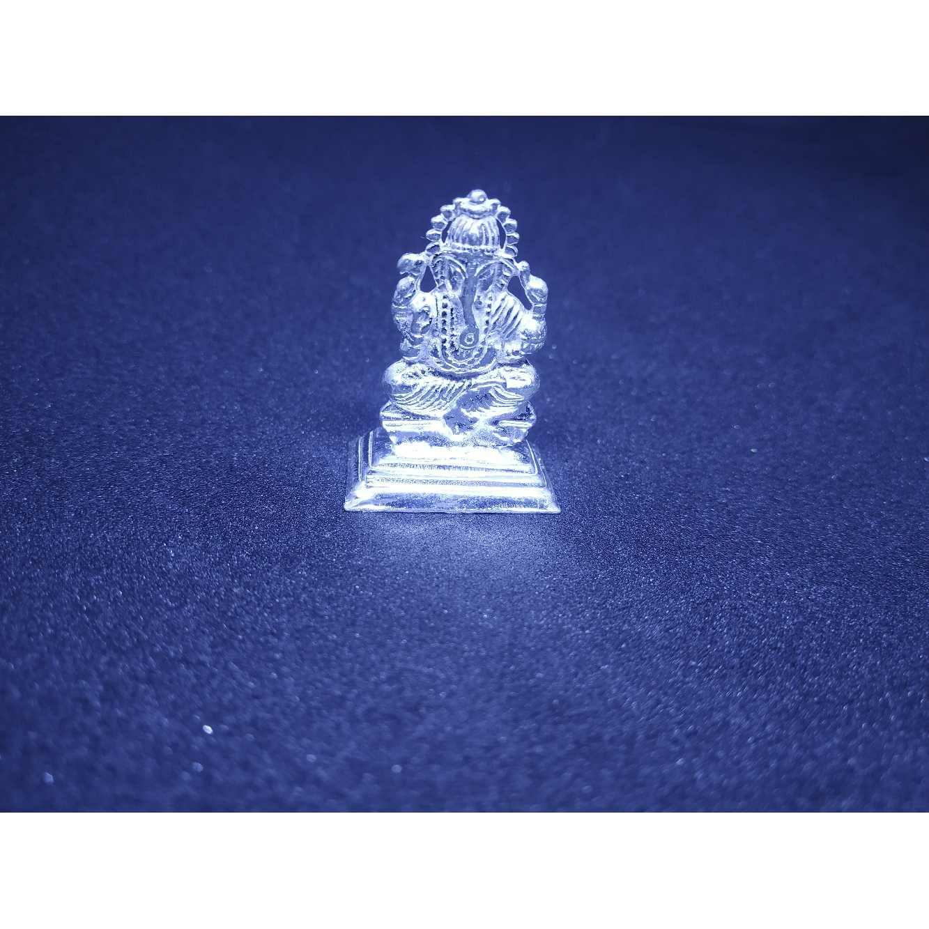 Super Nice Small Nano Ganesh Casting Murti(Bhagvan,God)