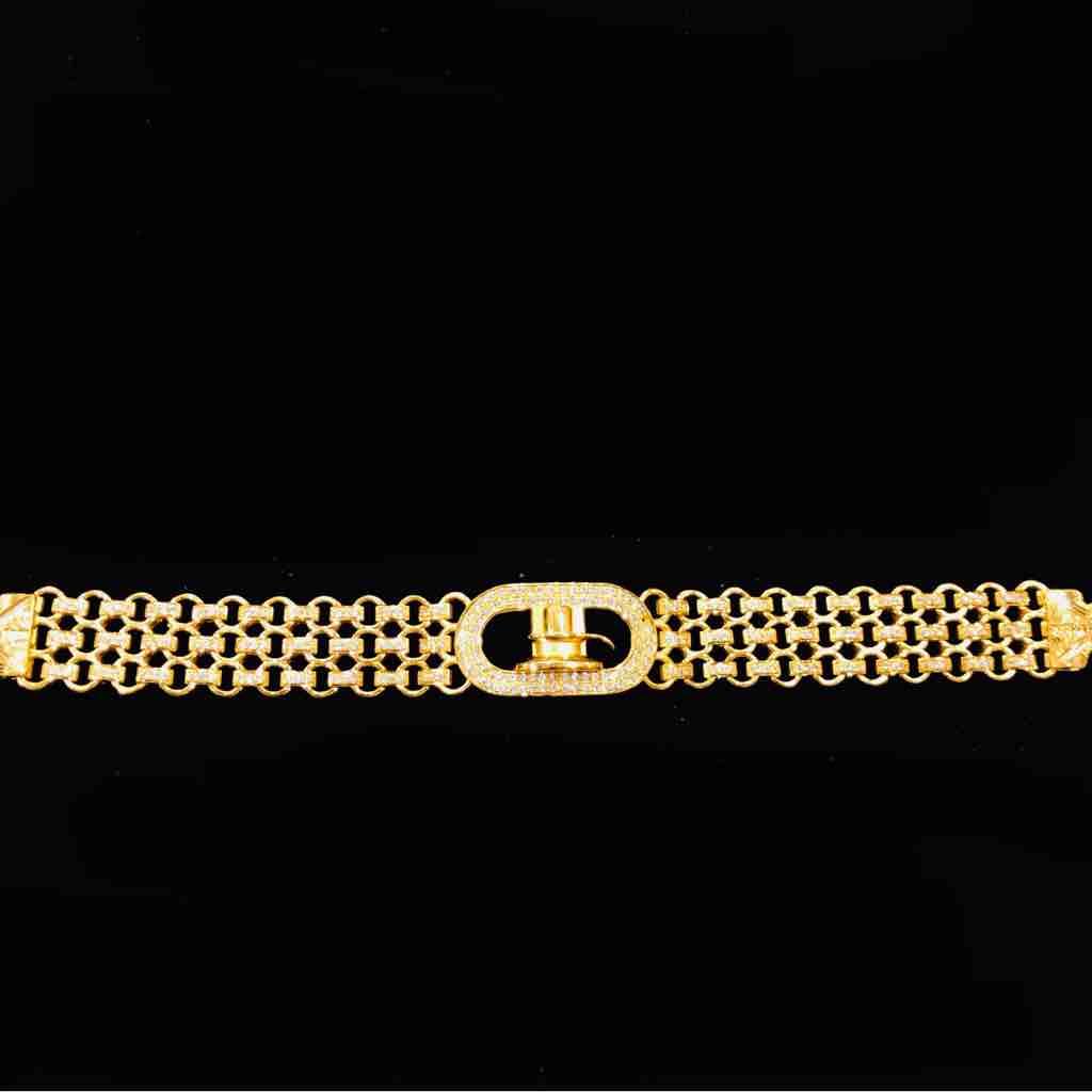 22kt 916 exclusive gents bracelet