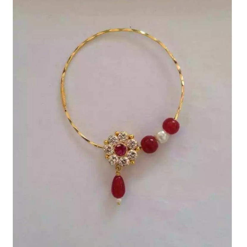 Buy Quality Traditional Indian Design Gold Nose Pin In Rajkot
