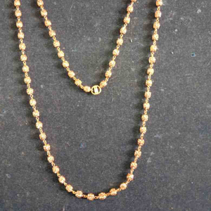 22ct gold 916 verticle mala fancy