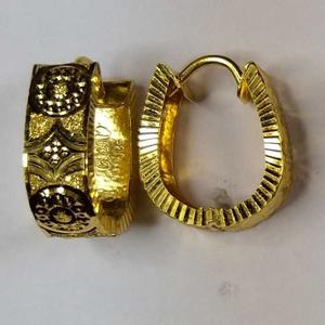 916 gold fancy uvbali earrings akm-er-142