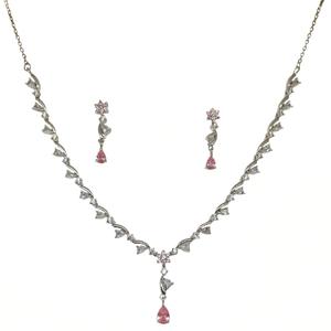 925 sterling silver designer necklace set mga