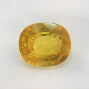 3.79ct oval natural yellow-sapphire
