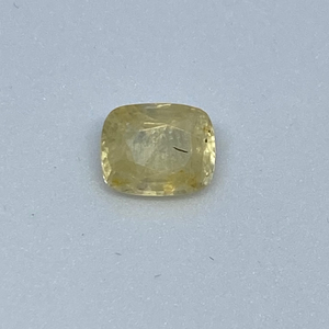 3.36ct cushion yellow yellow-sapphire-pukhraj