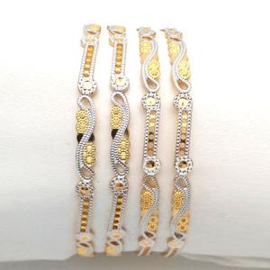 Gold hallmark cnc bangle - cp560
