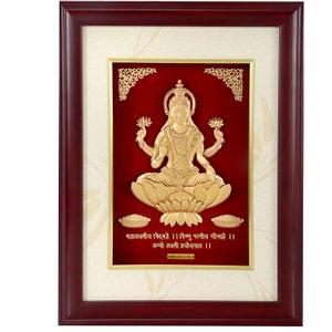 (36x48 cm)god laxmi ji divine photo frame 24