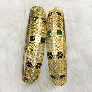 916 gold fancy kada rh-b008