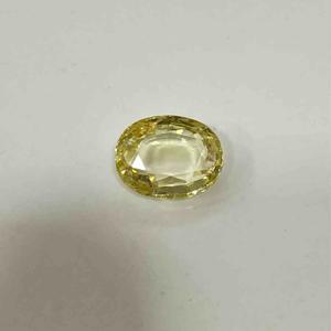 5.10ct oval yellow yellow-sapphire-pukhraj