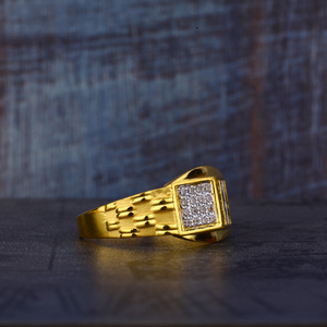 916 gold classic ring mr521