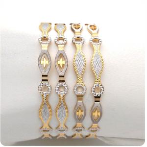 Gold hallmark cnc bangle - cp555