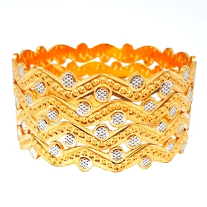 One gram gold forming machine cut bangles mga