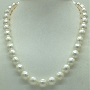 White round south sea pearls strand jpm0396