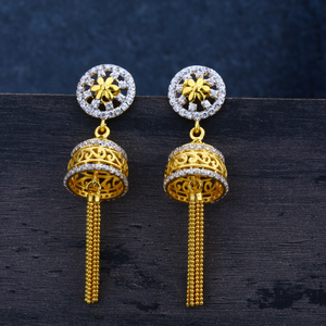 Ladies 92 traditional jummar earring-lje33