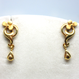Gold 22k hm916 earrings