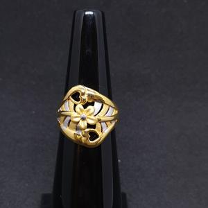 Ladies ring plain lrg-0249