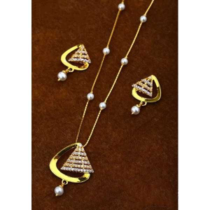 22 k gold fancy pendant set. nj-p0604