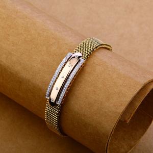 18kt rose gold fancy bracelet mlb109