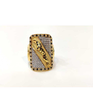 916 gents fancy jaguar ring gr-26028