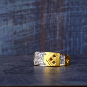 916 gold cz ring mr481