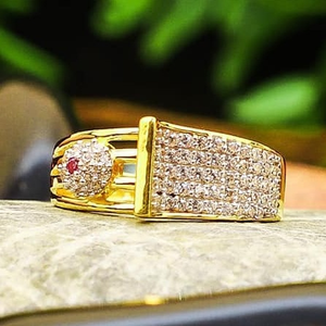 916 gold cz ladies ring lr-0032