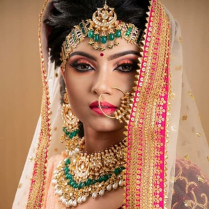 Bridal necklace and matha patti#321