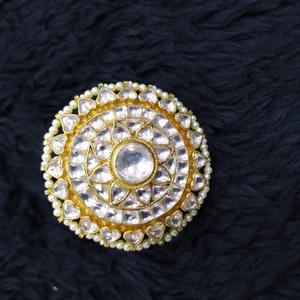 Beautiful kundan ring#755