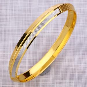 916 gold mens stylish punjabi lock kada mpkb3