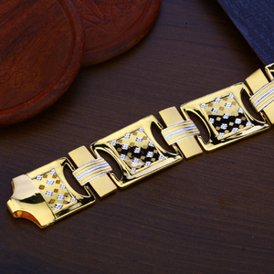 Mens gold 22k bracelet-mpb115