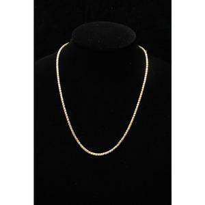 22kt gold mercury rhodium chains ml-c021