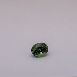3.430ct oval green tourmaline