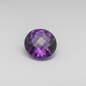 11.020ct round purple amethyst