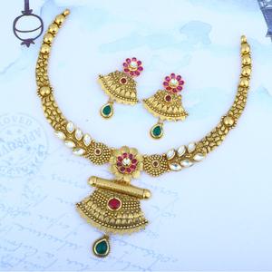 916 gold antique set stg - 0103