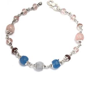 925 sterling silver pearl bracelet mga - brs0