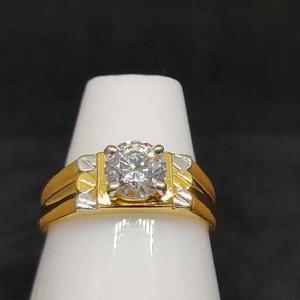 916 gold ring for men no-26503