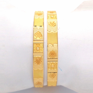 Gold hallmark khila bangle - pk1032