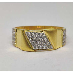 22k gents fancy gold ring gr-28583