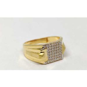 22k gents fancy gold ring gr-28577