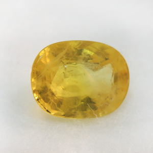 3.56ct oval natural yellow-sapphire