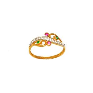 22k gold fancy ring mga - lrg0201