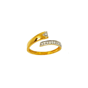 22k gold modern ring mga - lrg0461