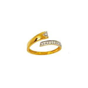 22k gold modern ring mga - lrg0461
