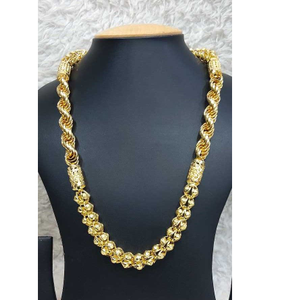 916 gents fancy gold chain g-8509